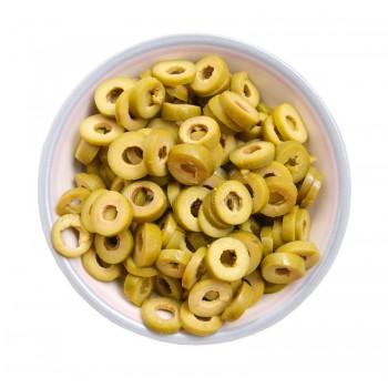 Olives vertes Slices - 250g