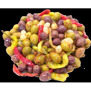 Cocktail Olives marinées -...
